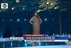 Hoa hậu Indonesia bị che mờ toàn thân trên truyền hình quốc gia vì bộ váy bị cho là phản cảm ở CK Miss Universe