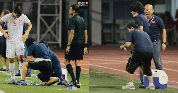 Thầy Park giận tím người với chính đội ngũ bác sĩ của U22 Việt Nam vì lý do đặc biệt-1