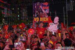 Việt Nam 'nổ tung', triệu người xuống đường mừng nhà vô địch SEA Games