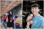 Văn Hậu cùng bạn gái đeo huy chương đi hẹn hò ngay sau khi U22 Việt Nam vô địch bóng đá nam SEA Games 30