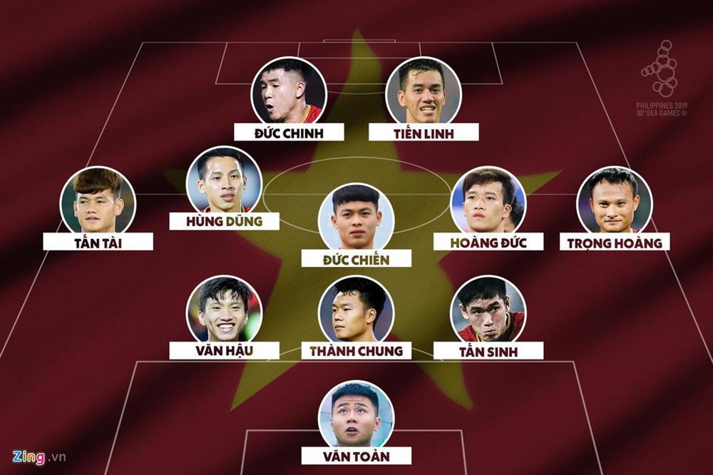 Văn Hậu thi đấu thế nào khi giúp U22 Việt Nam thắng Indonesia?-1