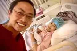 MC Phí Linh hạ sinh con đầu lòng ngay ngày Việt Nam vô địch SEA Games