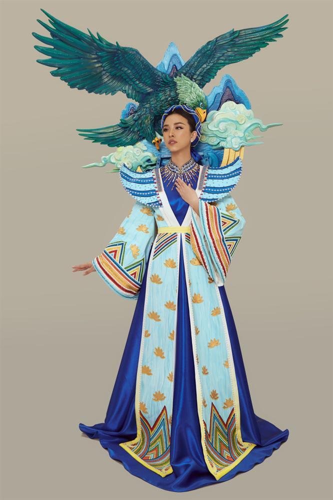Thúy An mặc trang phục dân tộc lấy cảm hứng từ tích Thạch Sanh tại Miss Intercontinental 2019-3
