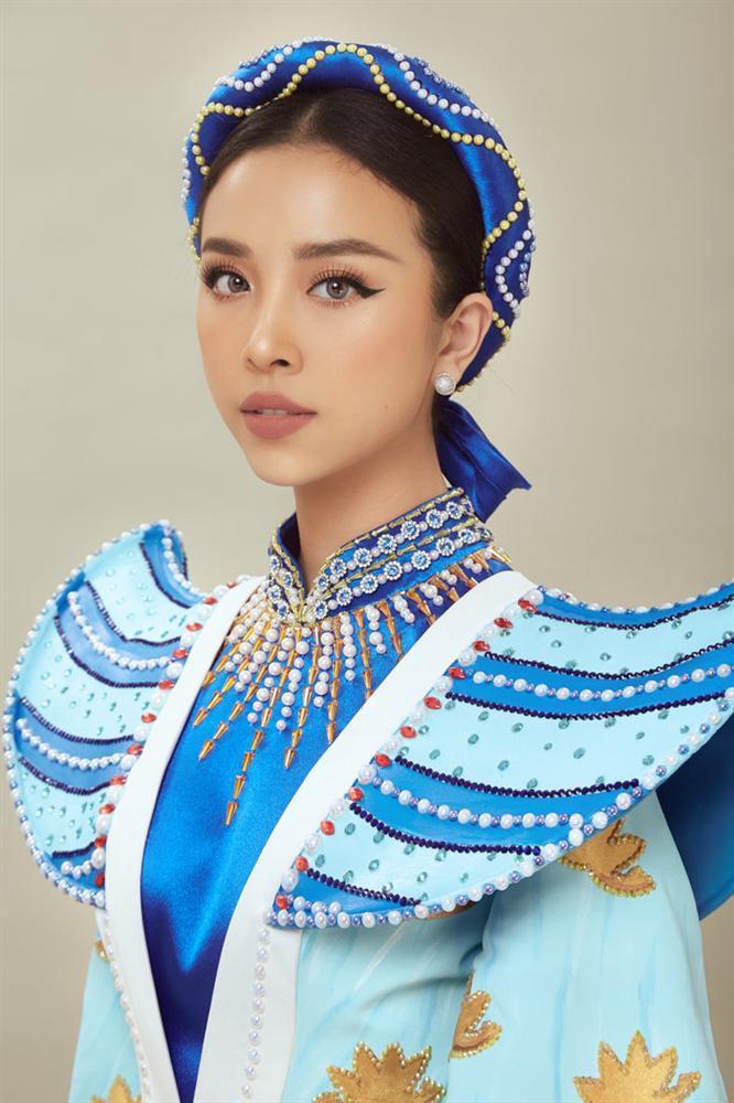 Thúy An mặc trang phục dân tộc lấy cảm hứng từ tích Thạch Sanh tại Miss Intercontinental 2019-5