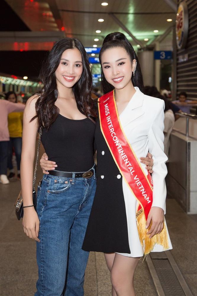 Thúy An mặc trang phục dân tộc lấy cảm hứng từ tích Thạch Sanh tại Miss Intercontinental 2019-6