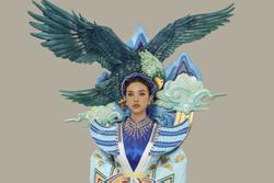 Thúy An mặc trang phục dân tộc lấy cảm hứng từ tích Thạch Sanh tại Miss Intercontinental 2019