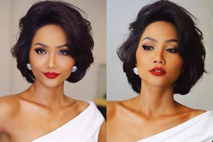 Bản tin Hoa hậu Hoàn vũ 11/12: Bất ngờ với thành quả của H'Hen Niê sau 1 năm nuôi tóc dài