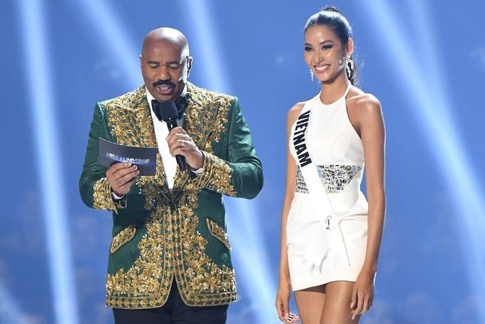 Ảnh hiếm của Hoàng Thùy tại chung kết Miss Universe 2019: Diện đầm đẹp nhưng không có cơ hội catwalk-1