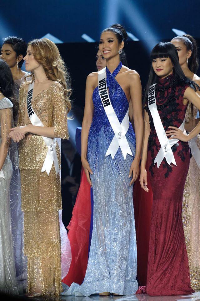 Ảnh hiếm của Hoàng Thùy tại chung kết Miss Universe 2019: Diện đầm đẹp nhưng không có cơ hội catwalk-2
