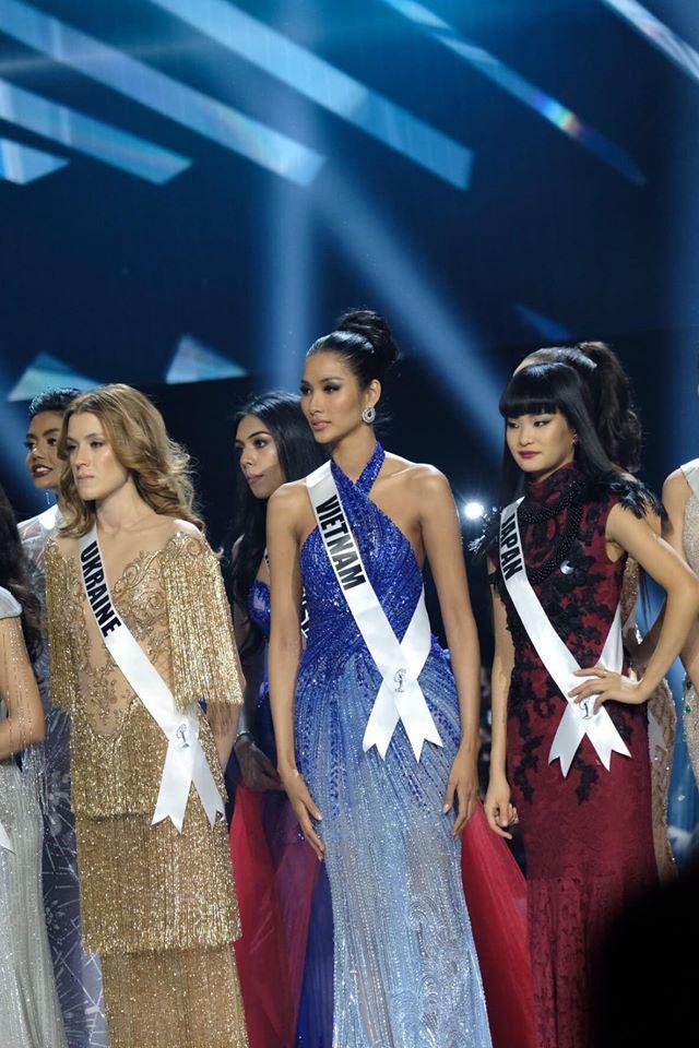 Ảnh hiếm của Hoàng Thùy tại chung kết Miss Universe 2019: Diện đầm đẹp nhưng không có cơ hội catwalk-7