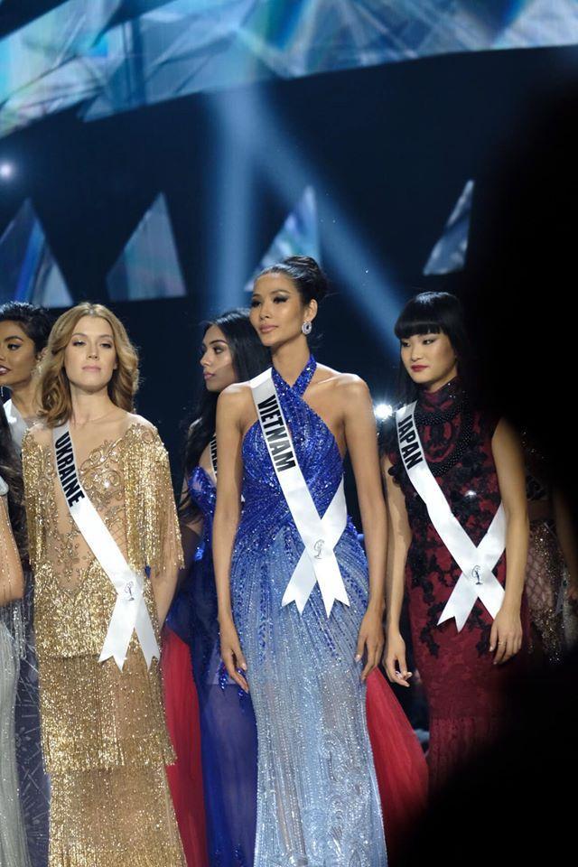 Ảnh hiếm của Hoàng Thùy tại chung kết Miss Universe 2019: Diện đầm đẹp nhưng không có cơ hội catwalk-8