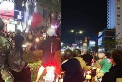 MXH dậy sóng hình ảnh cô gái trẻ 'lấy cớ' mừng chiến thắng U22 Việt Nam, lột đồ phản cảm giữa đường