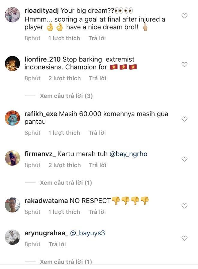 Truyền thông Indonesia ngán ngẩm vì CĐV làm loạn Instagram của Văn Hậu-2