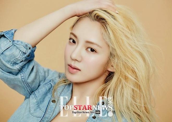 Rosé và dàn mỹ nhân Hàn lên đời nhan sắc nhờ nhuộm tóc vàng-5