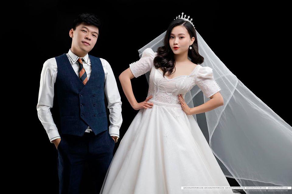 Diễn viên hài Trung Ruồi tung ảnh cưới bên bạn gái hot girl-2