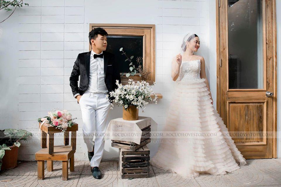 Diễn viên hài Trung Ruồi tung ảnh cưới bên bạn gái hot girl-4