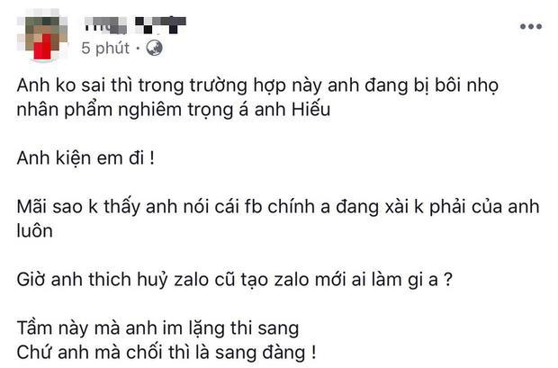 Cô gái tố Hồ Quang Hiếu hiếp dâm thách nam ca sĩ hãy khởi kiện nếu thực sự bị vu khống-4
