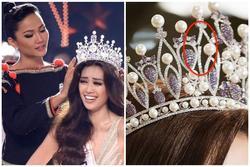 Vương miện hơn 2000 nghìn viên đá quý bị gãy sau 4 ngày Hoa hậu Hoàn vũ Việt Nam đăng quang?