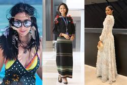 Bản tin Hoa hậu Hoàn vũ 12/12: Giản dị hết mức khi đi sự kiện, H'Hen Niê vẫn được khen hết lời