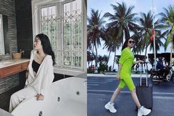 Học bạn gái Văn Hậu cách tạo dáng khi chụp ảnh du lịch