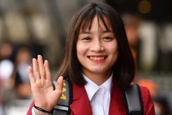 Hoàng Thị Loan: 'Cầu thủ nữ cũng cần chăm sóc bản thân thật xinh đẹp'
