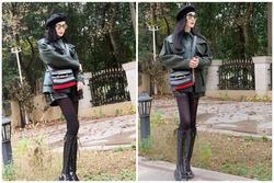 Nhìn loạt ảnh này mới thấy Phạm Băng Băng chỉ cần giảm cân là chân thon dài miên man chẳng kém người mẫu