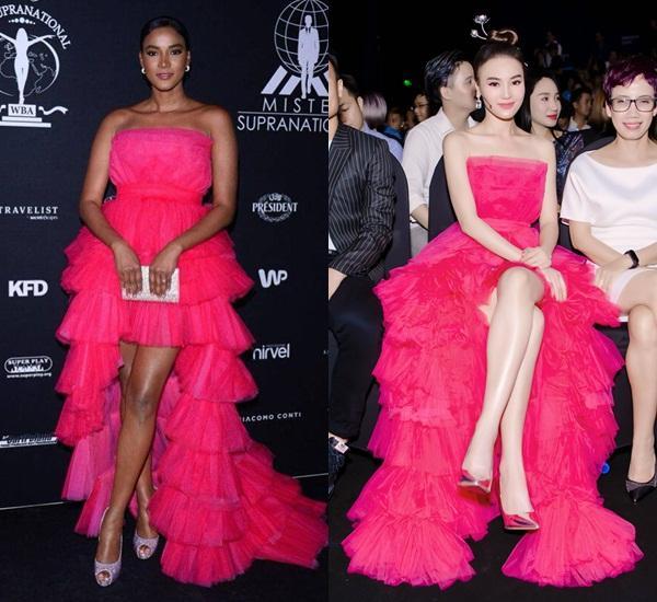 Hoa hậu Hoàn vũ đụng váy Ninh Dương Lan Ngọc: Phần thắng không ngờ thuộc về ngọc nữ Việt-9