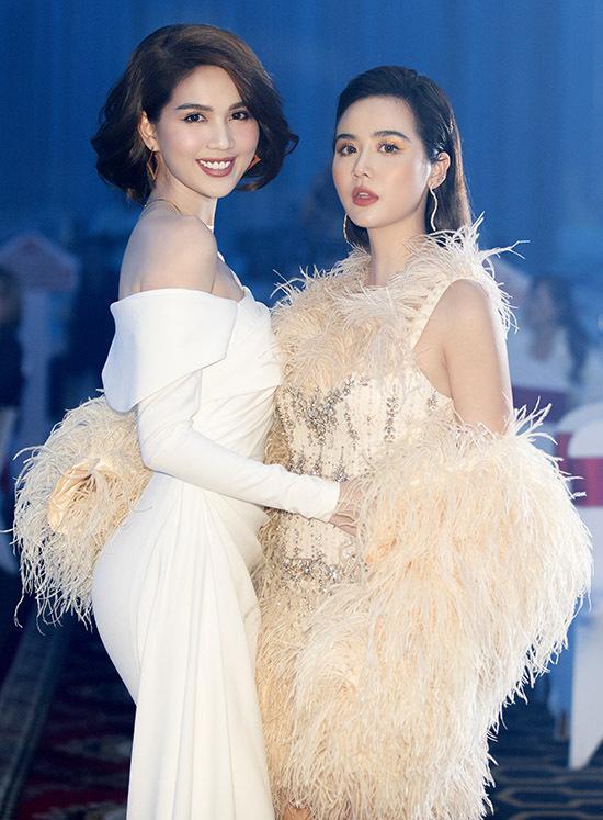 Đụng đầm lông vũ cồng kềnh, Ninh Dương Lan Ngọc - Huyền Lizzie xử lý đẹp chỉ trừ Jun Vũ-2