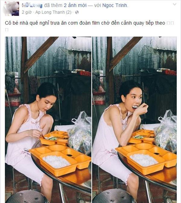 Ngọc Trinh lại tự phá giá với dáng ngồi trên Thái Lan, dưới miền Tây-5