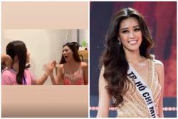 Tân Hoa hậu Hoàn vũ Khánh Vân 'lớn tiếng xéo xắt' với Nam Em khi so tuổi trong hậu trường