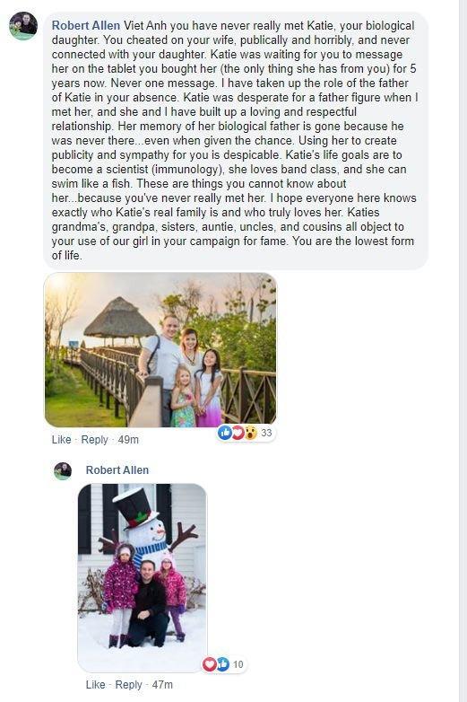 Chồng mới của vợ cũ Việt Anh lên tiếng: Katie suốt 5 năm qua luôn chờ đợi 1 tin nhắn từ cha ruột-5
