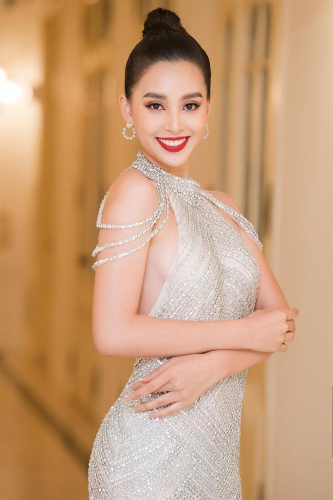 Mai Ngô trang điểm lỗi mốt như chụp ảnh thời xưa - Khánh Vân make up già chát trong đêm chung kết Miss Universe-8