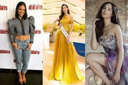 Bản tin Hoa hậu Hoàn vũ 13/12: Khánh Vân 'chặt chém' từng mỹ nữ với đầm gold xếp ly