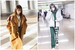 Không còn thảm họa thời trang, Trịnh Sảng ngày càng mặc đẹp ra sân bay