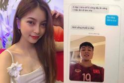 Bạn trai cũ Quang Hải nhắn tin tình cảm với cô gái khác, phản ứng của Nhật Lê làm ai đọc cũng đồng cảm
