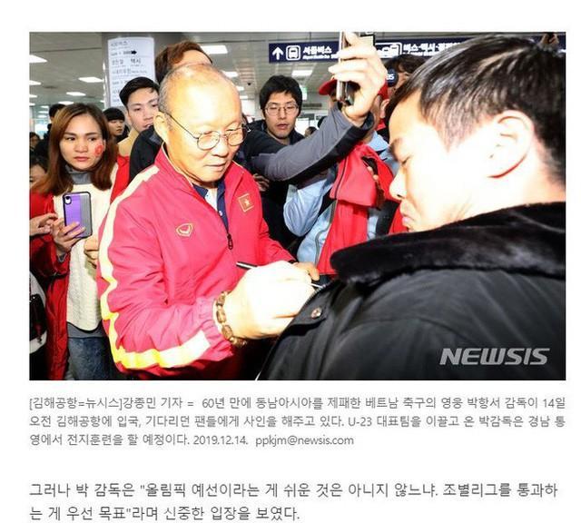 Giúp U22 Việt Nam vô địch SEA Games, thầy Park được chào đón nồng nhiệt tại Hàn Quốc-2