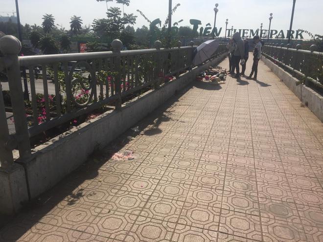 Nữ sinh viên 19 tuổi tử vong bất thường khi đang đi bộ trên cầu bộ hành Suối Tiên-1