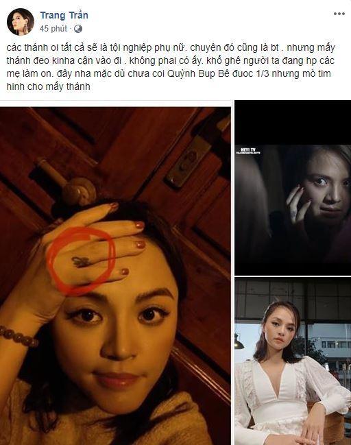 Giữa tin đồn Thu Quỳnh lộ clip nóng, Trang Trần tung bằng chứng minh oan cho đàn em-3