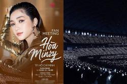 Vừa rục rịch trở lại showbiz sau tin đồn sinh con, Hòa Minzy bị fan Kpop tố 'chôm' ảnh EXO làm poster fanmeeting