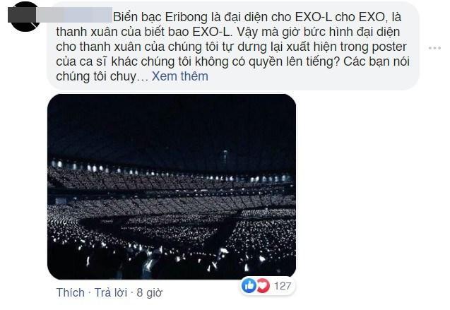 Vừa rục rịch trở lại showbiz sau tin đồn sinh con, Hòa Minzy bị fan Kpop tố chôm ảnh EXO làm poster fanmeeting-5
