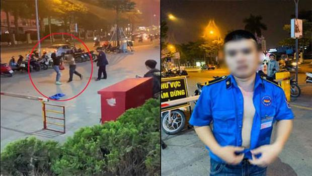 Clip: Phẫn nộ nhìn gã bảo vệ cởi áo, đánh cô gái như đấm boxing ở Hà Nội-2