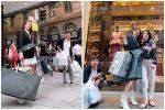Shopping kiểu 'nữ quyền' như Nhã Phương - Trường Giang: Vợ sắm hàng hiệu xịn sò - chồng dùng đồ bình dân