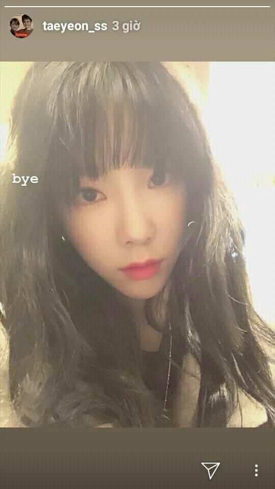 SNSD Taeyeon đăng dòng chữ tạm biệt, gây lo lắng sau sự ra đi của một loạt idol Hàn-1