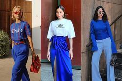 Sao Việt đón đầu tông xanh cổ điển - gam màu hot trend 2020