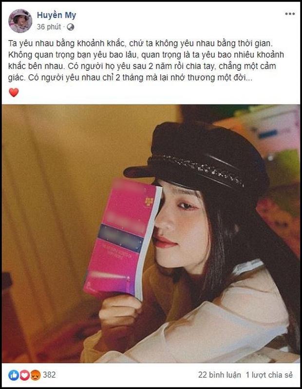 Bạn gái tin đồn của Quang Hải đăng status kể tình yêu 2 tháng nhưng sao lại như cà khịa Nhật Lê thế kia?-4