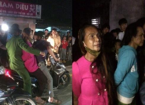 Nghi bắt cóc trẻ con, 2 người của đoàn nhạc bị người dân vây trói-1