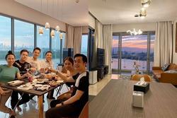 Dương Khắc Linh, Đăng Khôi hội ngộ mừng tân gia biệt thự của Lê Hiếu và tiết lộ: 'Có view 10 triệu đô'