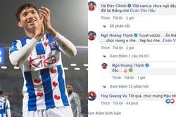 Đoàn Văn Hậu đá ra mắt Heerenveen, Hà Đức Chinh 'cà khịa' hút ngàn like
