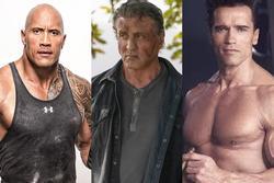Những người hùng cơ bắp đình đám trên màn ảnh Hollywood