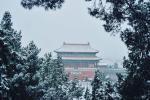 Núi Võ Đang đẹp tựa chốn thần tiên mùa đông tuyết trắng-1